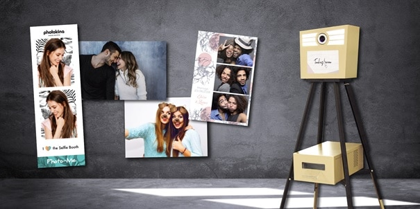 location photobooth - Borne à selfie